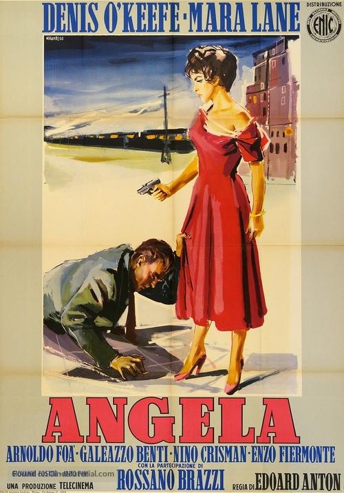 Angela - Italian Movie Poster
