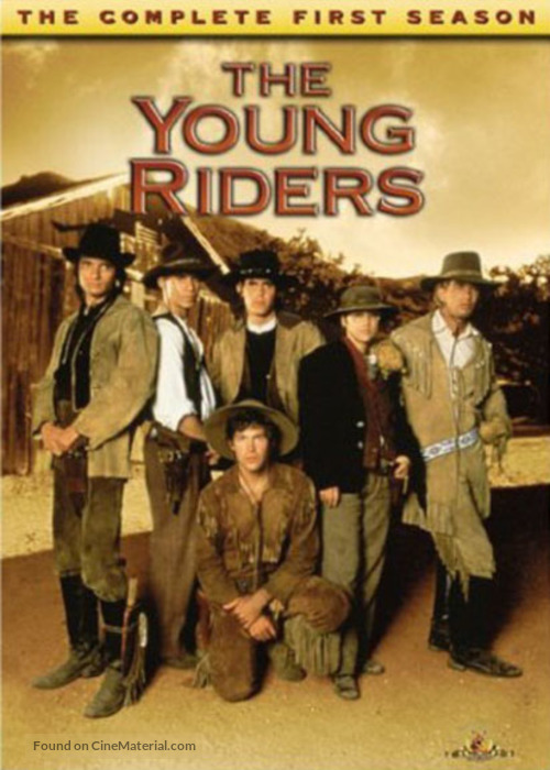 """""""The Young Riders"""" - Movie Cover"""