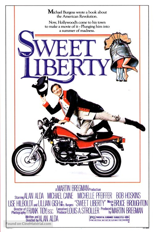 Sweet Liberty - Movie Poster