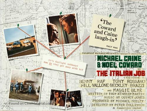The Italian Job - British Movie Poster