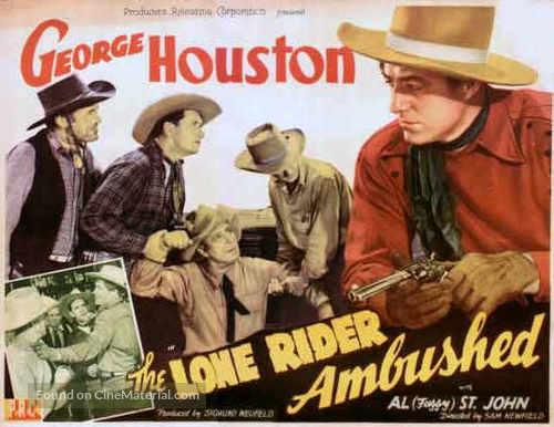 The Lone Rider Ambushed - Movie Poster