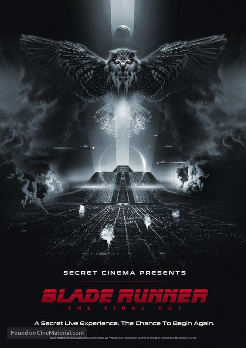 Blade Runner - Re-release movie poster