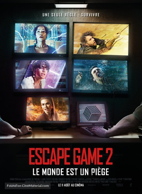 Escape Room: Tournament of Champions - French Movie Poster
