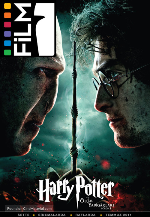 Harry Potter and the Deathly Hallows: Part II - Turkish Movie Poster