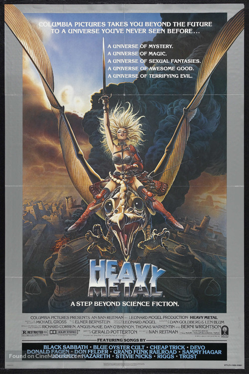 Heavy Metal - Theatrical movie poster