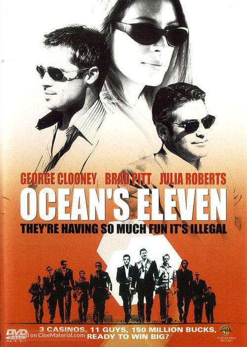 Ocean's Eleven - DVD movie cover