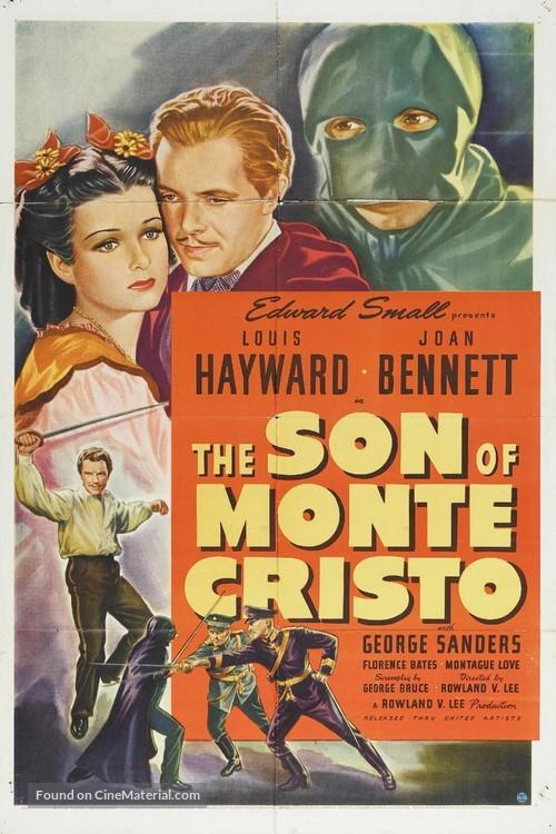 The Son of Monte Cristo - Movie Poster