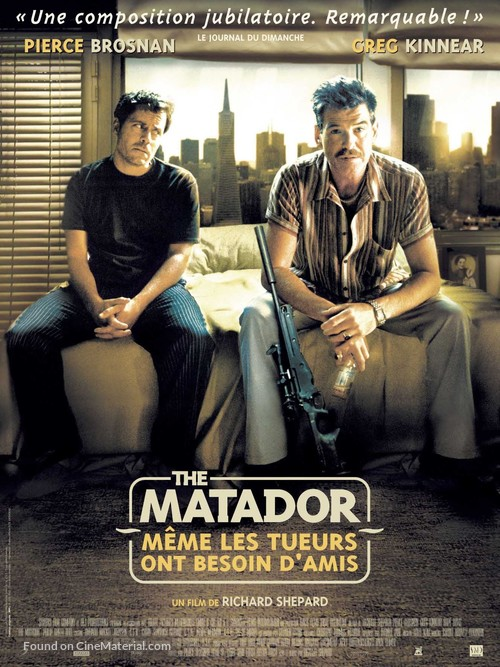 The Matador - French Movie Poster
