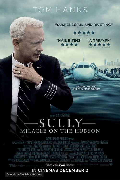 Sully - British Movie Poster