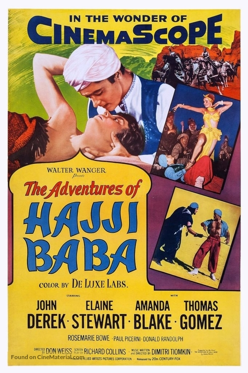 The Adventures of Hajji Baba - Movie Poster