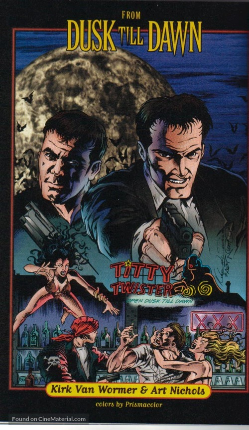 From Dusk Till Dawn - VHS movie cover
