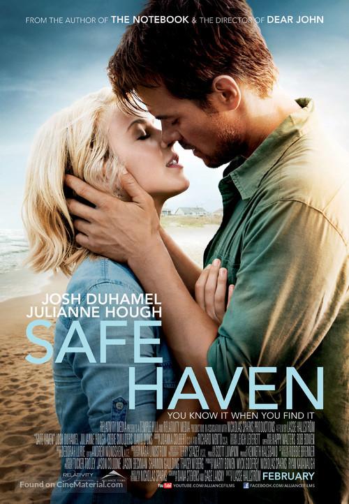 Safe Haven - Canadian Movie Poster