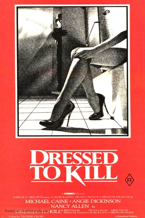 Dressed to Kill - Australian Movie Poster