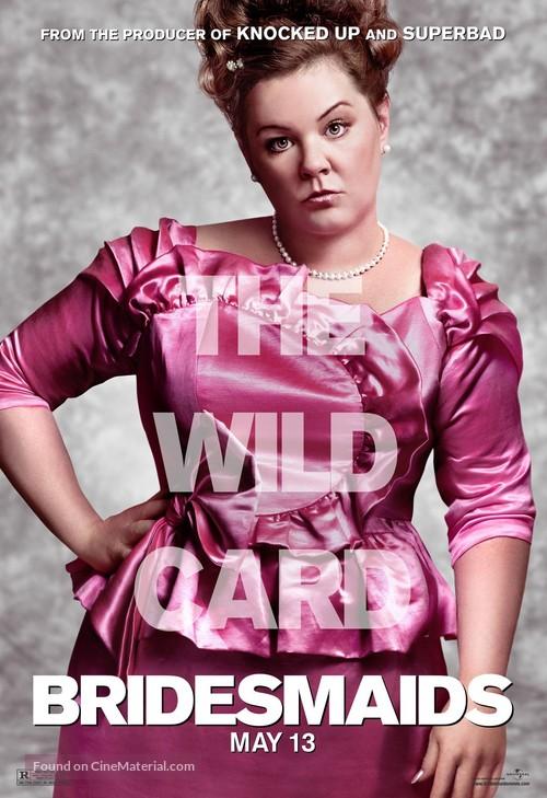 Bridesmaids - Movie Poster