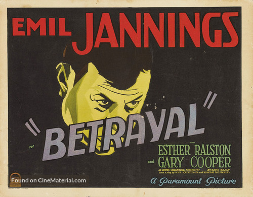 Betrayal - Theatrical movie poster
