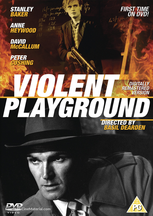 Violent Playground - British DVD movie cover
