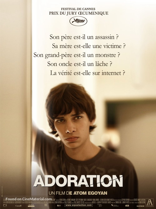 Adoration - French Movie Poster