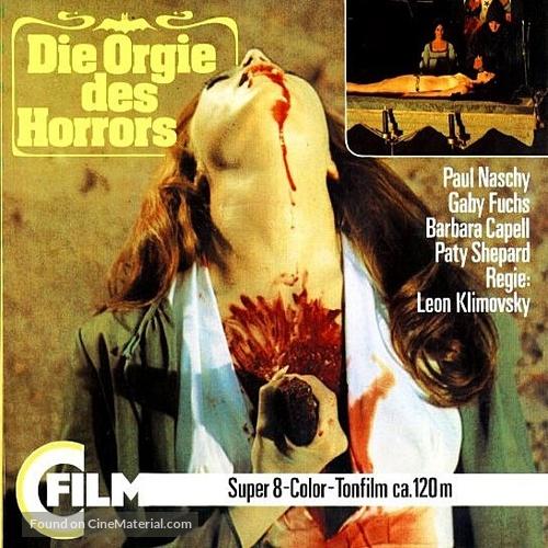 La noche de Walpurgis - German Movie Cover