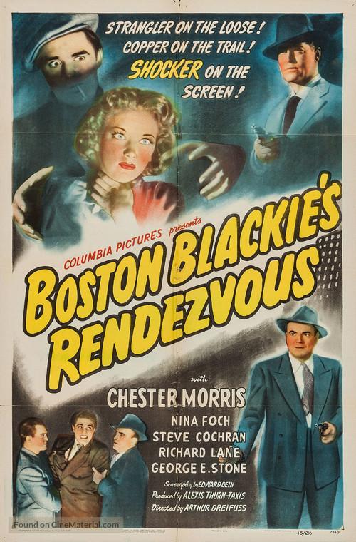 Boston Blackie's Rendezvous - Movie Poster