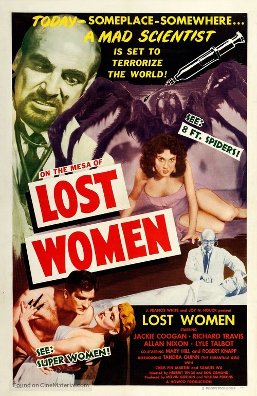 Mesa of Lost Women - Movie Poster
