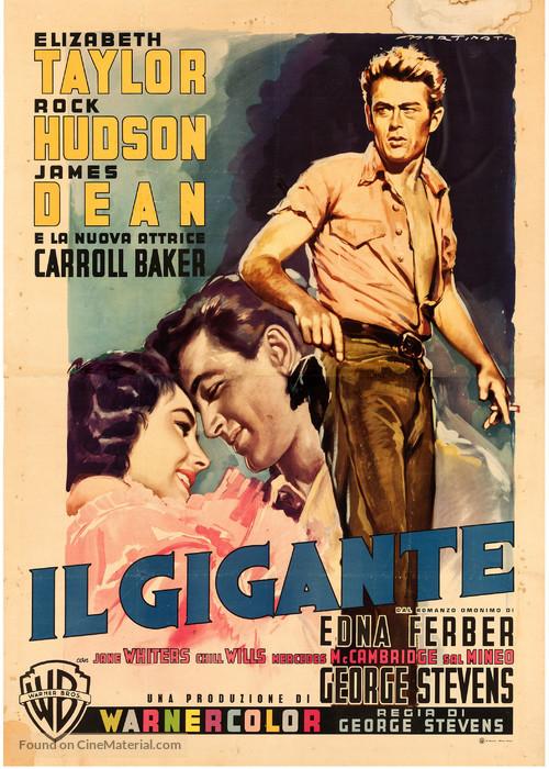 Giant - Italian Movie Poster