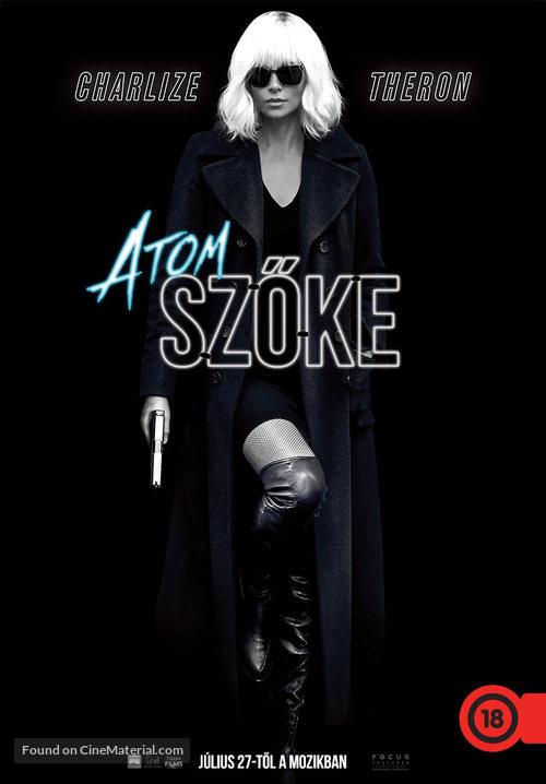 Atomic Blonde - Hungarian Movie Poster