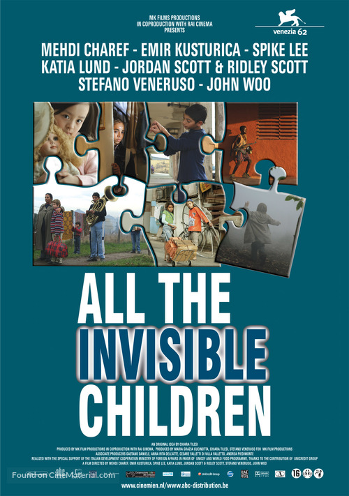 All the Invisible Children - Dutch Movie Poster