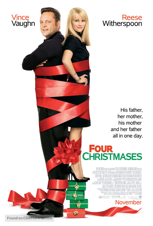 Four Christmases - Movie Poster