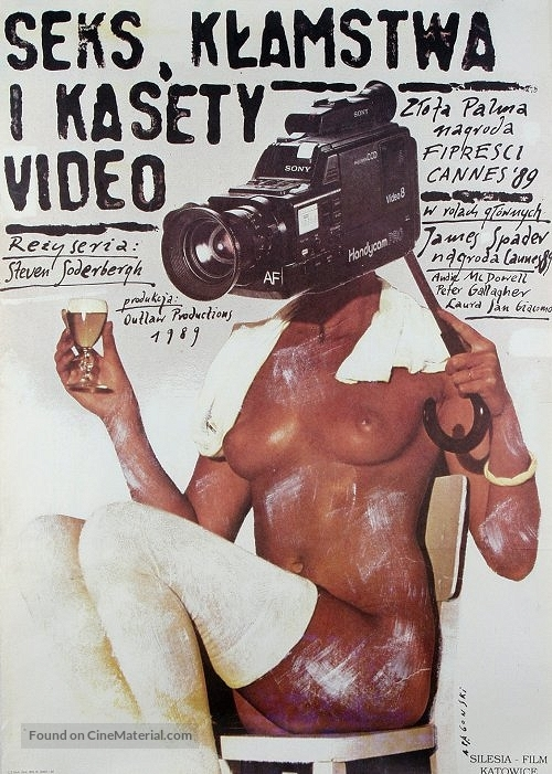 Sex, Lies, and Videotape - Polish Movie Poster