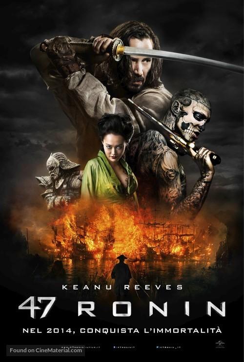 47 Ronin - Italian Movie Poster