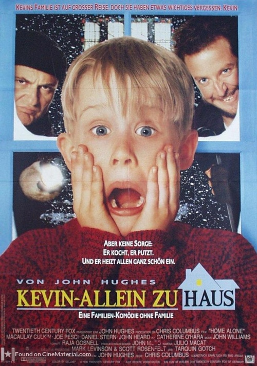 Home Alone - German Movie Poster