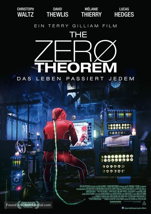 The Zero Theorem - German Movie Poster