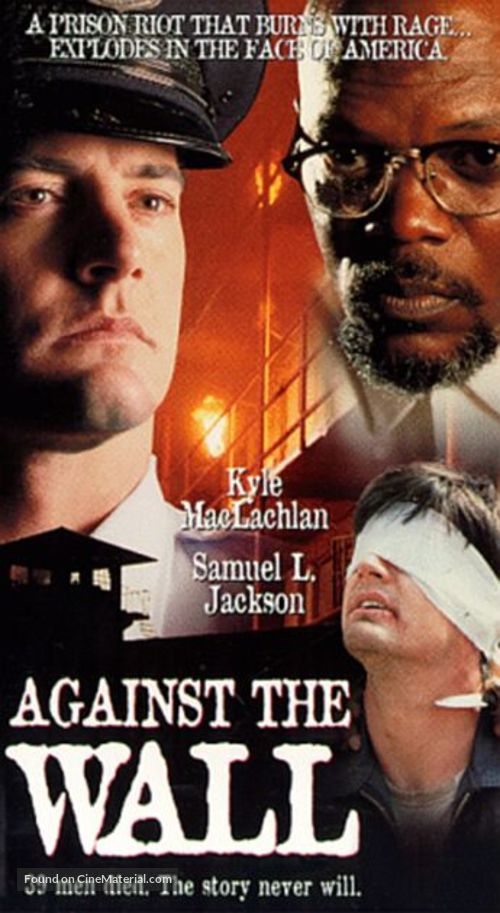 Against The Wall - VHS movie cover
