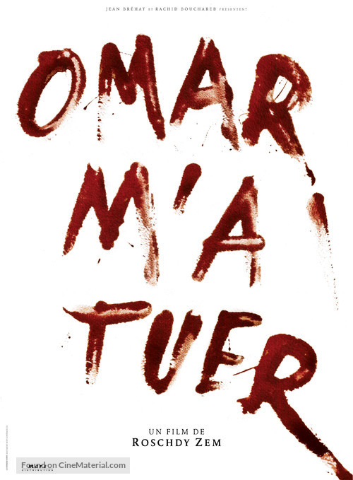Omar m'a tuer - French Movie Poster