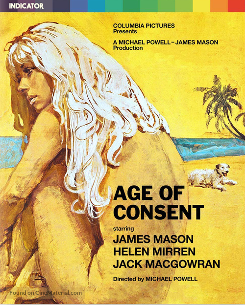 Age of Consent - British Blu-Ray movie cover