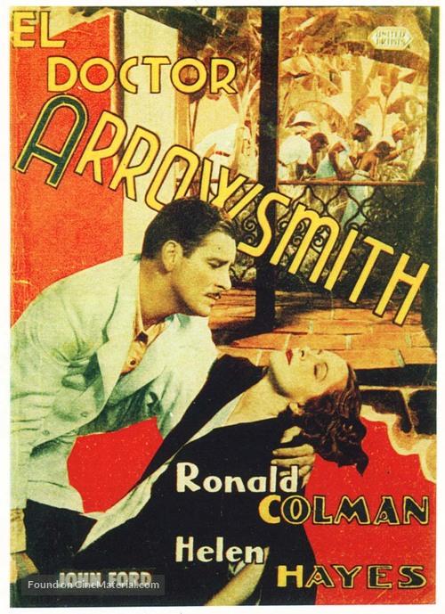 Arrowsmith - Spanish Movie Poster