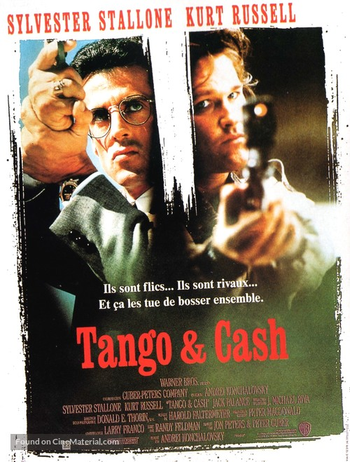 Tango And Cash - French Movie Poster