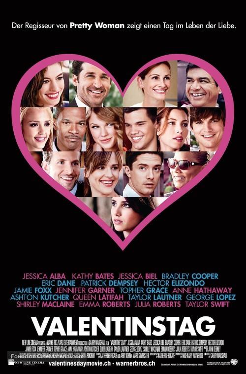 Valentine's Day - Swiss Movie Poster
