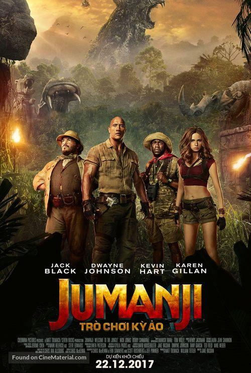 Jumanji: The Next Level - Vietnamese Movie Poster