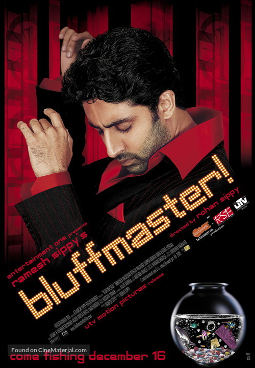 Bluff Master - Indian poster