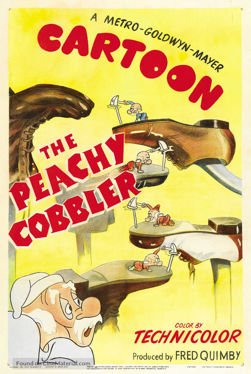 The Peachy Cobbler - Movie Poster
