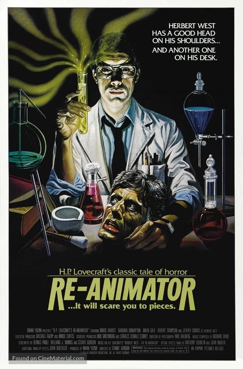Re-Animator - Movie Poster
