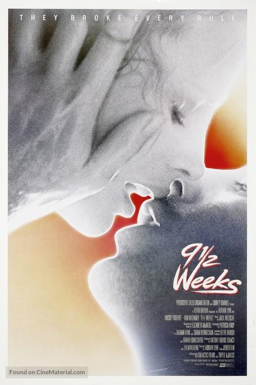 Nine 1/2 Weeks - Theatrical movie poster