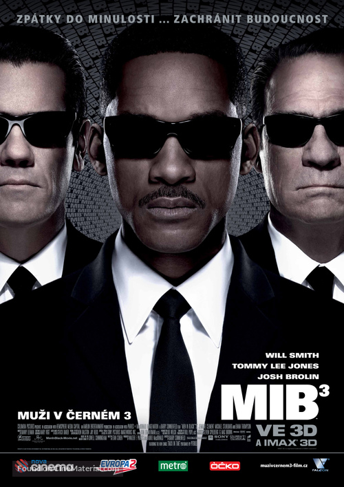 Men in Black 3 - Czech Movie Poster