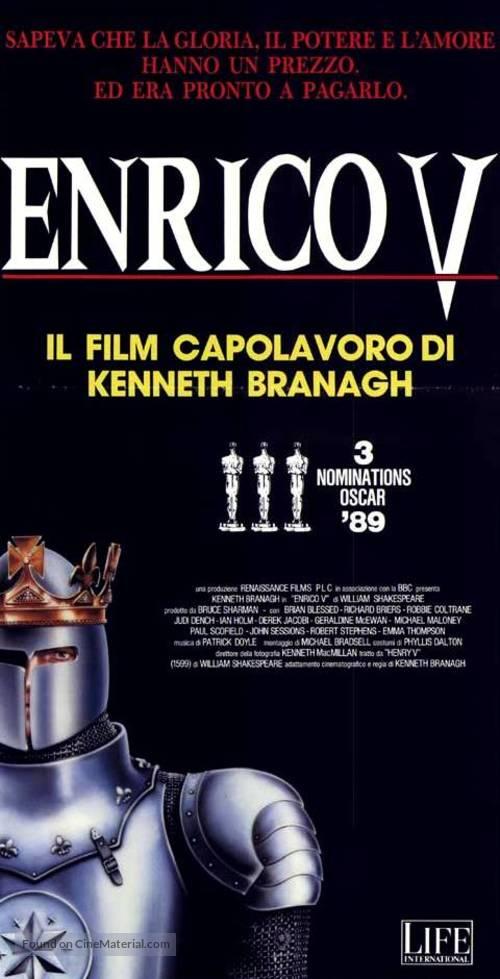 Henry V - Italian Movie Poster