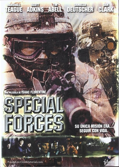 Special Forces - Spanish DVD movie cover