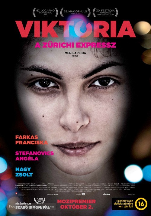 Viktoria: A Tale of Grace and Greed - Hungarian Movie Poster