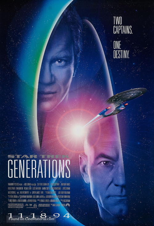 Star Trek: Generations - Movie Poster