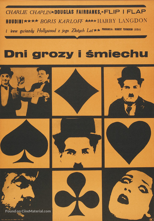 Days of Thrills and Laughter - Polish Movie Poster