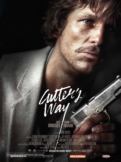 Cutter's Way - French Movie Poster